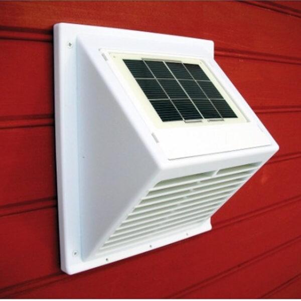 SunWind aurinkokennotuuletin integroidulla aurinkopaneelilla