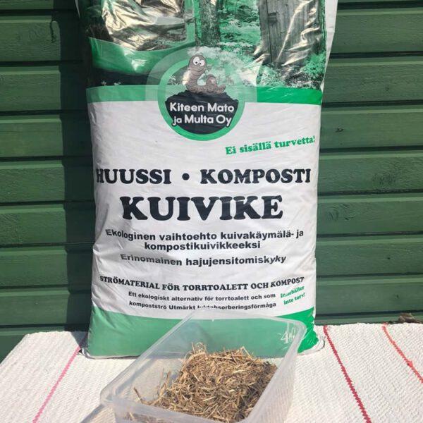 Huussi kompostikuivike Kiteen