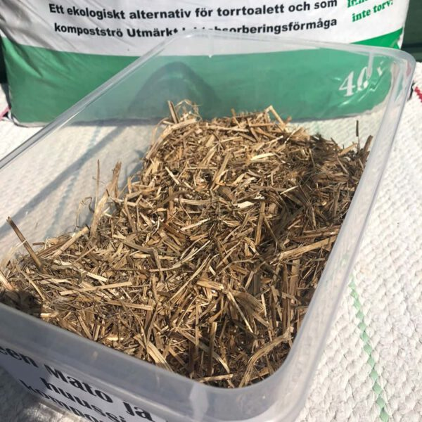 Kiteen dry material for composting