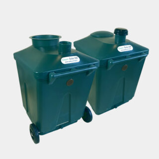 Green Toilet 330 L containers