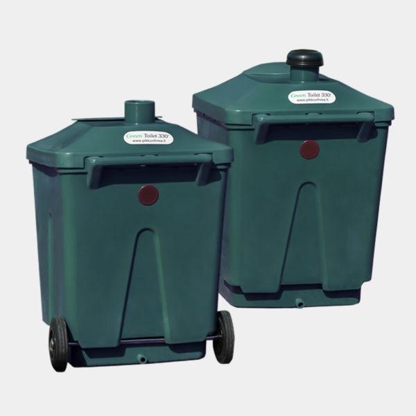 Green Toilet 330 paketti