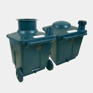 Green Toilet 120 L containers