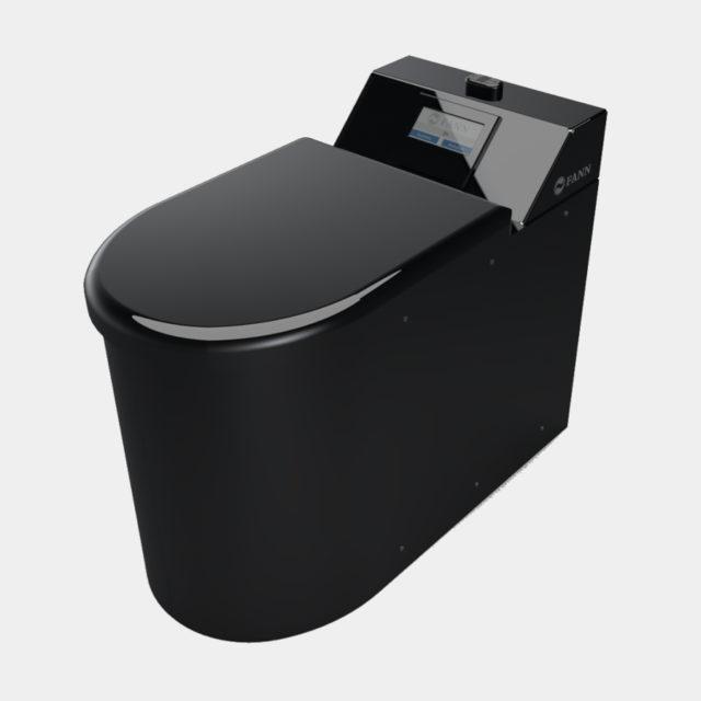 Roslagen alipaine wc musta
