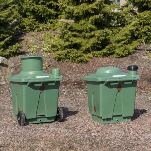 Green Toilet 120 Family ja vaihtosäiliö