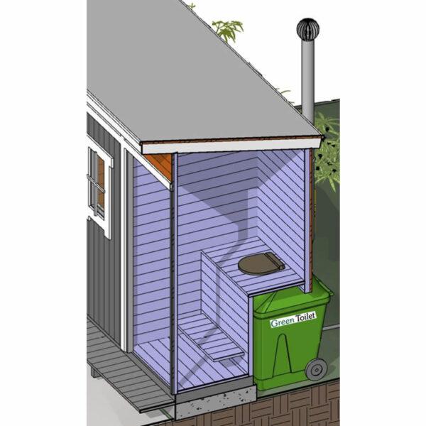 Green Toilet 330 perspektiivi