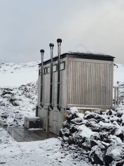 Iceland outhouse