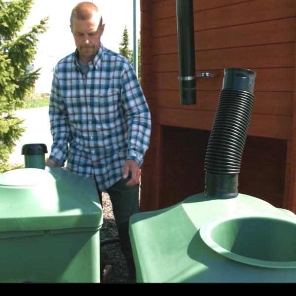 Green Toilet vaihtosäiliö
