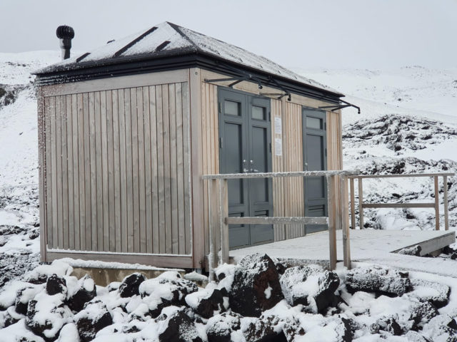 Dry toilets in tourism sites