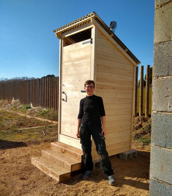 Saneseco compost toilet