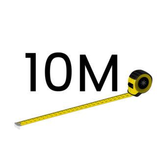 10 metriä (+120.00 €)