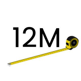 12 metriä (+150.00 €)