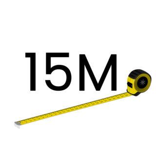 15 metriä (+180.00 €)