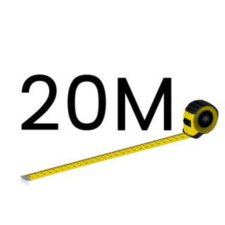 20 metriä (+250.00 €)