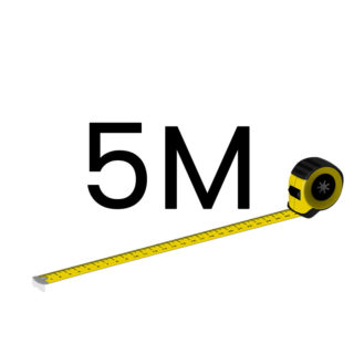 5 metriä (+60.00 €)