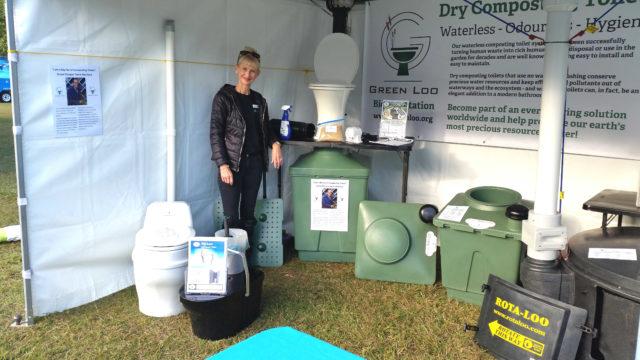 Green Toilets in Green Heart Fair